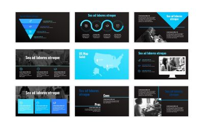 SYDNEY BLUE FREE POWERPOINT TEMPLATE