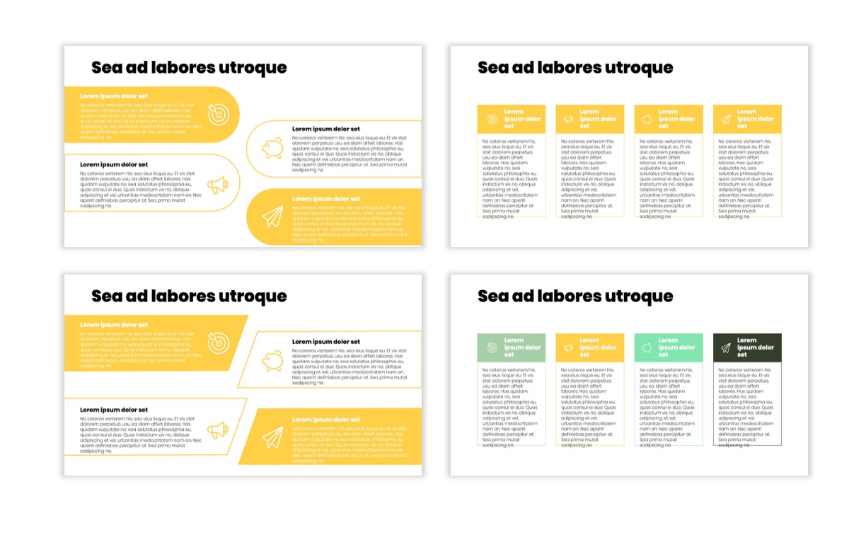 Circles PPT Template - Professional - Lemon - Yellow - Green - Business - Professional Slide12