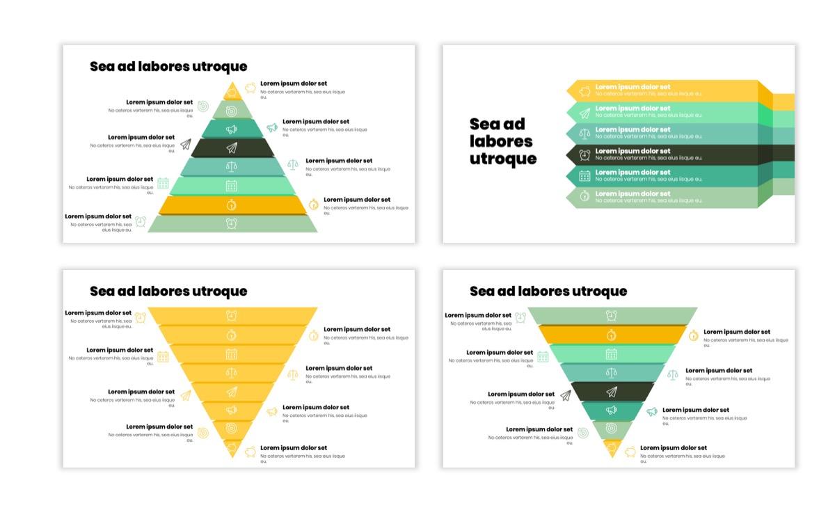Circles PPT Template - Professional - Lemon - Yellow - Green - Business - Professional Slide22