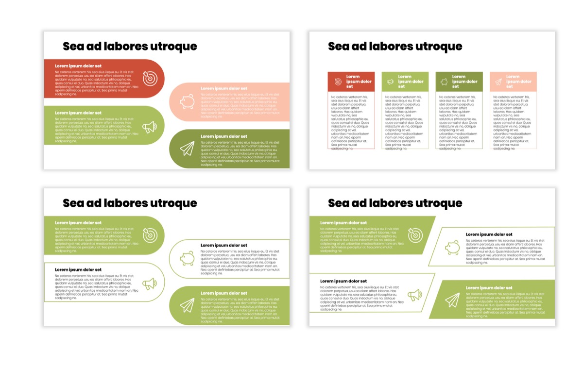 Circles PPT Template - Professional - Navy - Floral - Business - Professional Slide13