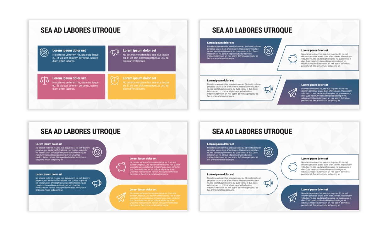 Circles PPT Template - Professional - Navy - Purple - Business - Professional Slide13