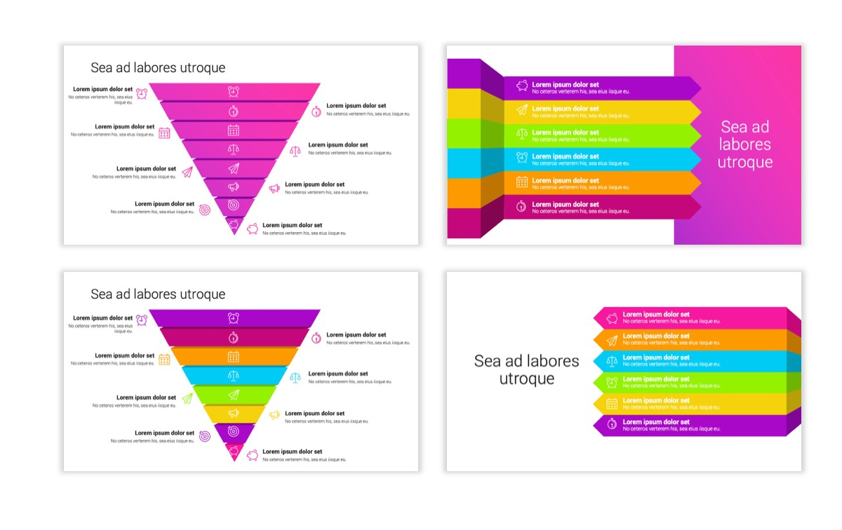 Circles PPT Template - Professional - Pink - Purple - Bright - Business - Professional Slide24