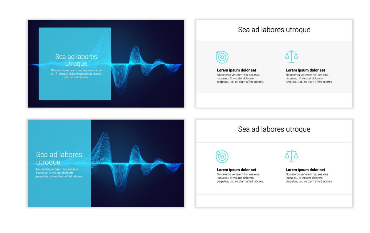 Minimal PPT Templates - Blue - Technology Slide2