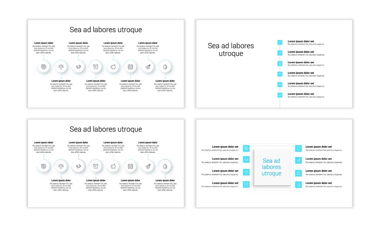Minimal PPT Templates - Blue - Technology Slide20