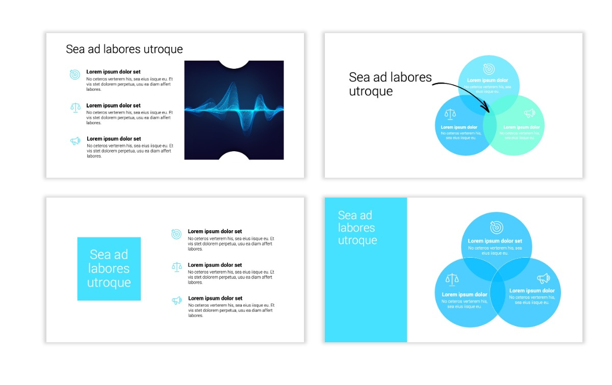 Minimal PPT Templates - Blue - Technology Slide6