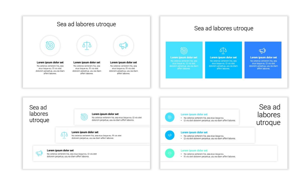 Minimal PPT Templates - Blue - Technology Slide7