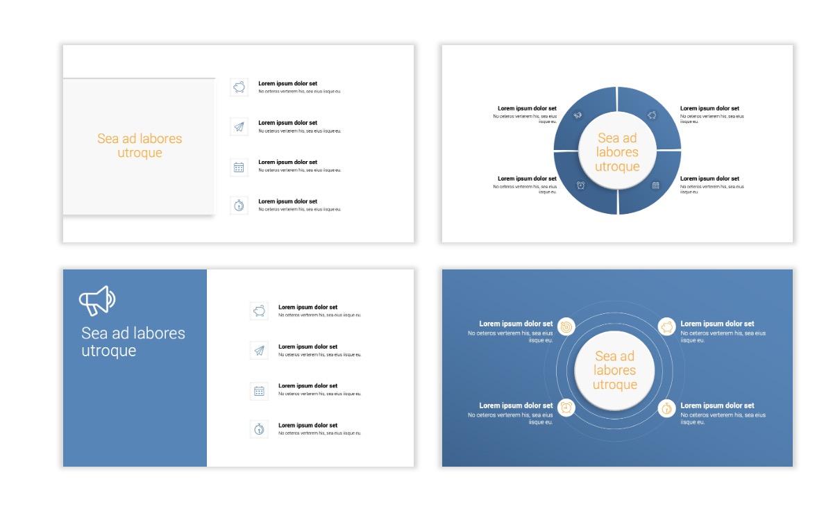 Minimal PPT Templates - Gray Blue -Bright - Interior Design - Real Estate Slide15