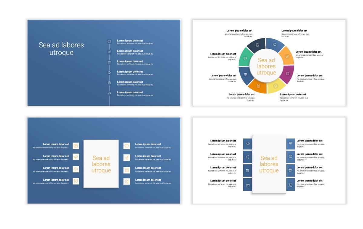 Minimal PPT Templates - Gray Blue -Bright - Interior Design - Real Estate Slide21