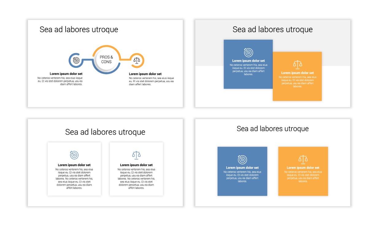 Minimal PPT Templates - Gray Blue -Bright - Interior Design - Real Estate Slide3