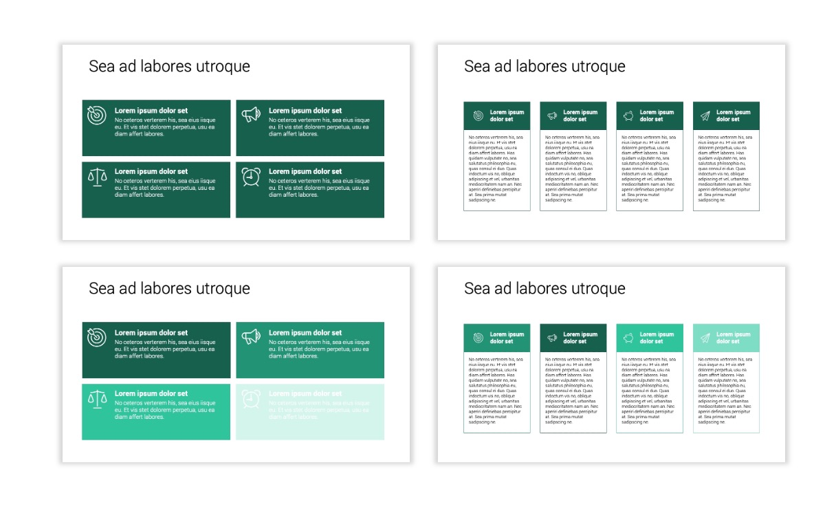 Minimal PPT Templates - Green - Monochromatic - Interior Design - Real Estate -2 Slide12