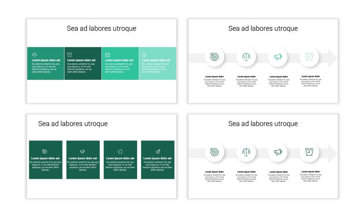 Minimal PPT Templates - Green - Monochromatic - Interior Design - Real Estate -2 Slide14