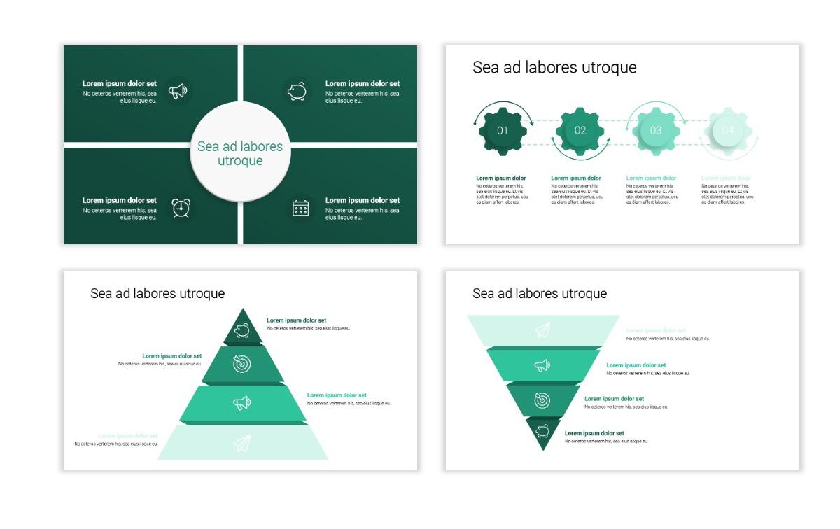 Minimal PPT Templates - Green - Monochromatic - Interior Design - Real Estate -2 Slide16