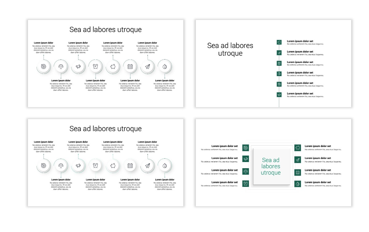 Minimal PPT Templates - Green - Monochromatic - Interior Design - Real Estate -2 Slide20
