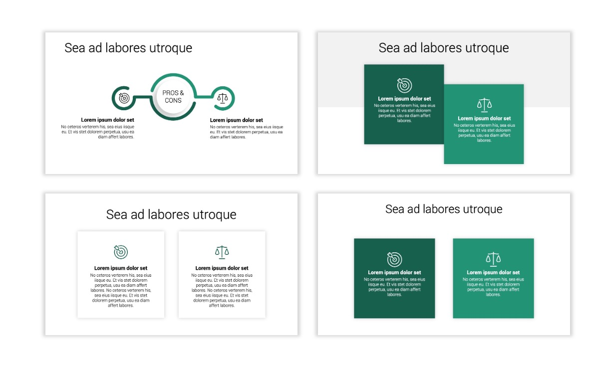 Minimal PPT Templates - Green - Monochromatic - Interior Design - Real Estate -2 Slide3