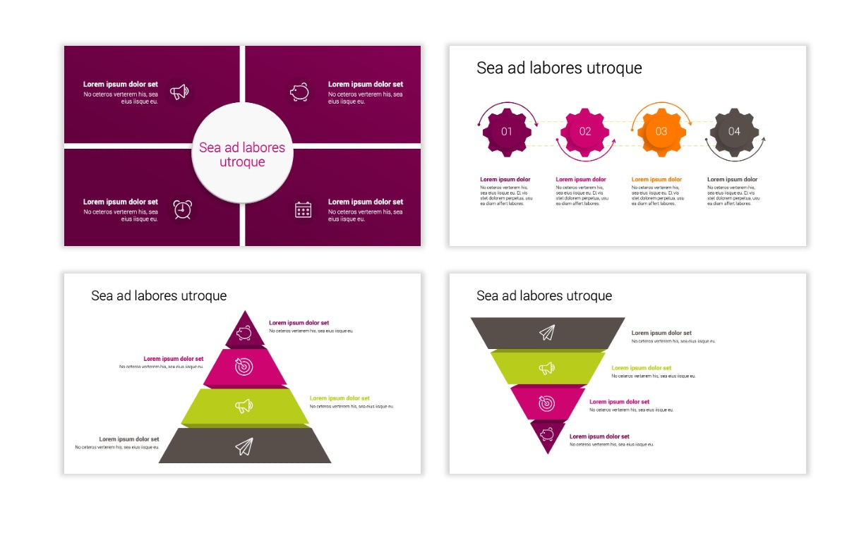 Minimal PPT Templates - Maroon - Bright - Interior Design - Real Estate Slide16