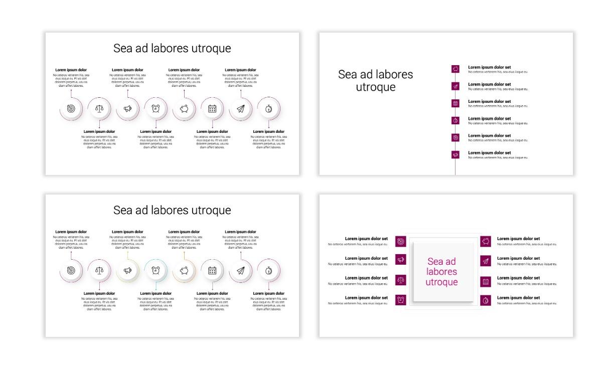 Minimal PPT Templates - Maroon - Bright - Interior Design - Real Estate Slide20