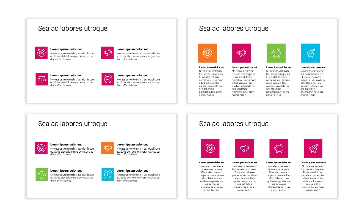 Minimal PPT Templates - Pink - Bright - Interior Design - Real Estate Slide11