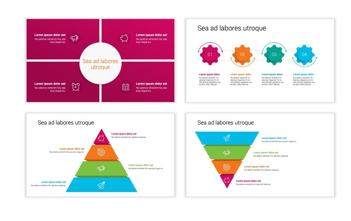 Minimal PPT Templates - Pink - Bright - Interior Design - Real Estate Slide16
