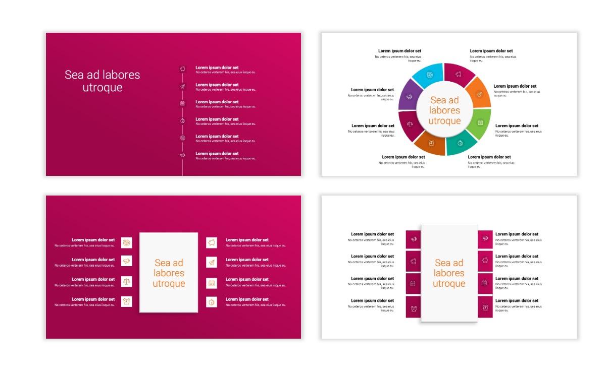 Minimal PPT Templates - Pink - Bright - Interior Design - Real Estate Slide21