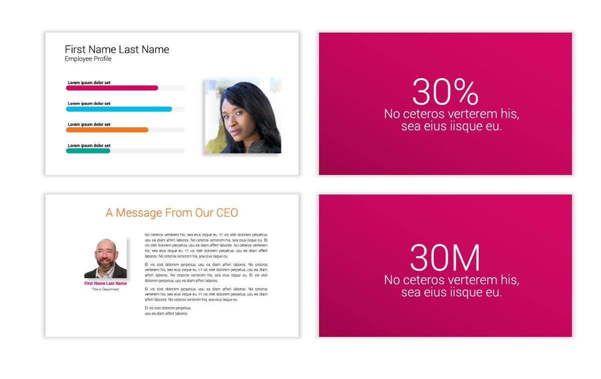 Minimal PPT Templates - Pink - Bright - Interior Design - Real Estate Slide25