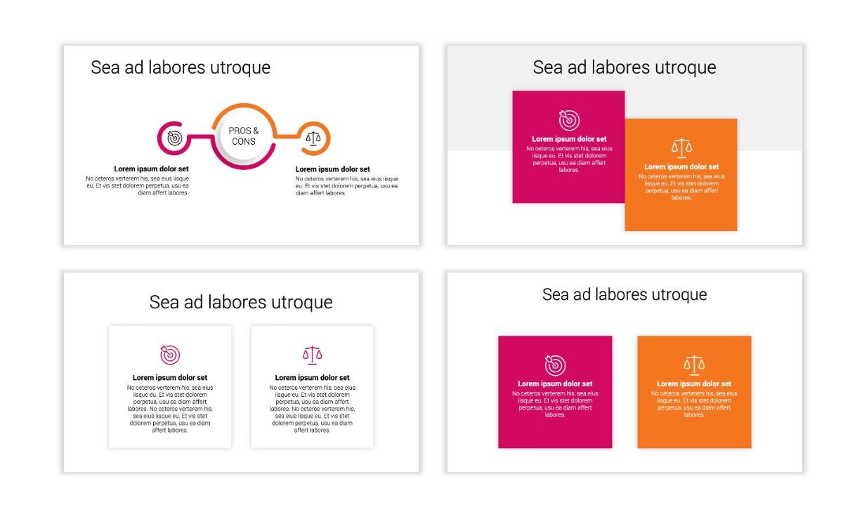 Minimal PPT Templates - Pink - Bright - Interior Design - Real Estate Slide3