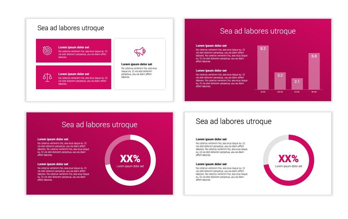 Minimal PPT Templates - Pink - Bright - Interior Design - Real Estate Slide4