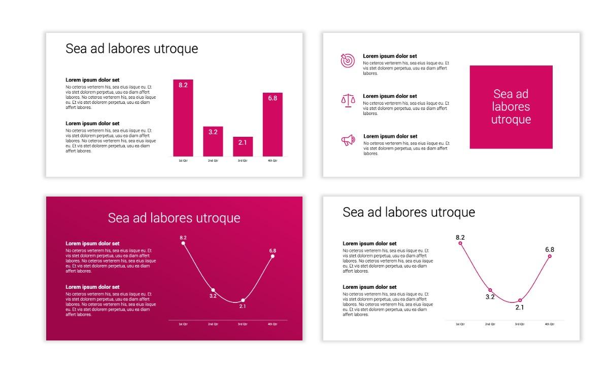 Minimal PPT Templates - Pink - Bright - Interior Design - Real Estate Slide5