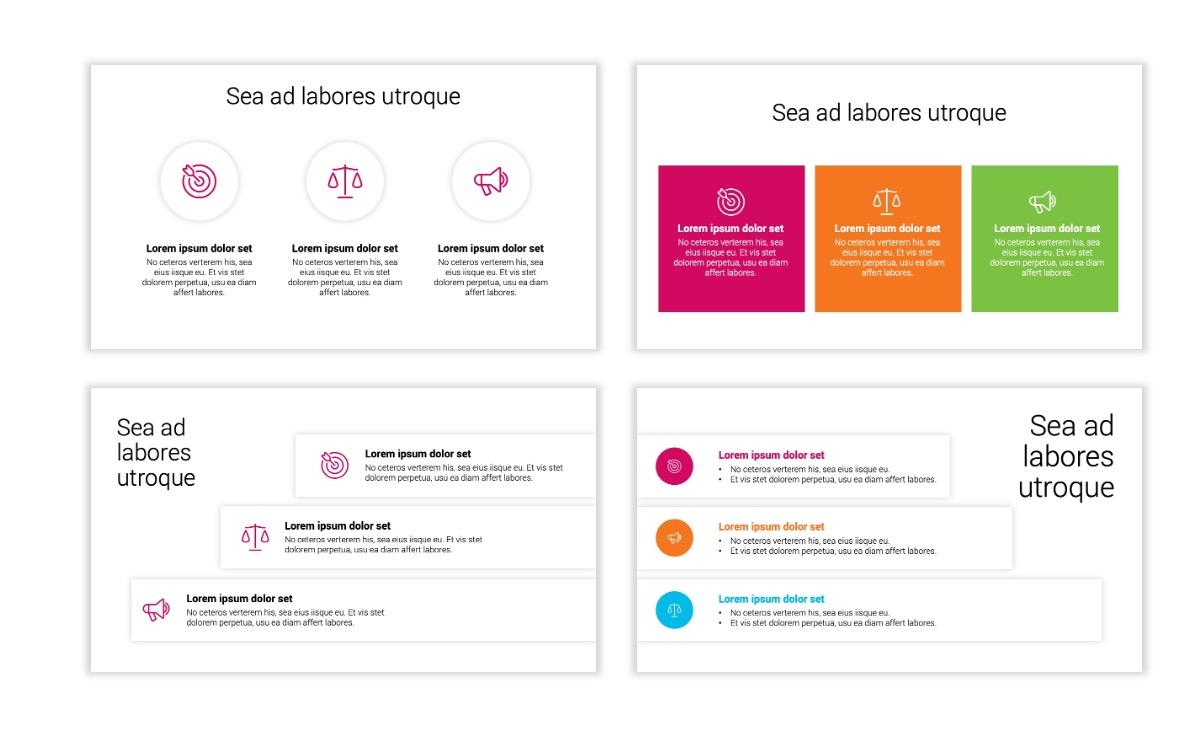 Minimal PPT Templates - Pink - Bright - Interior Design - Real Estate Slide7