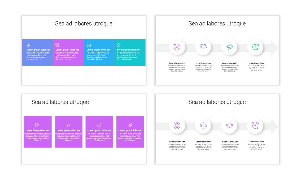 Minimal PPT Templates - Purple - Bright - Colorful - Interior Design - Real Estate Slide14