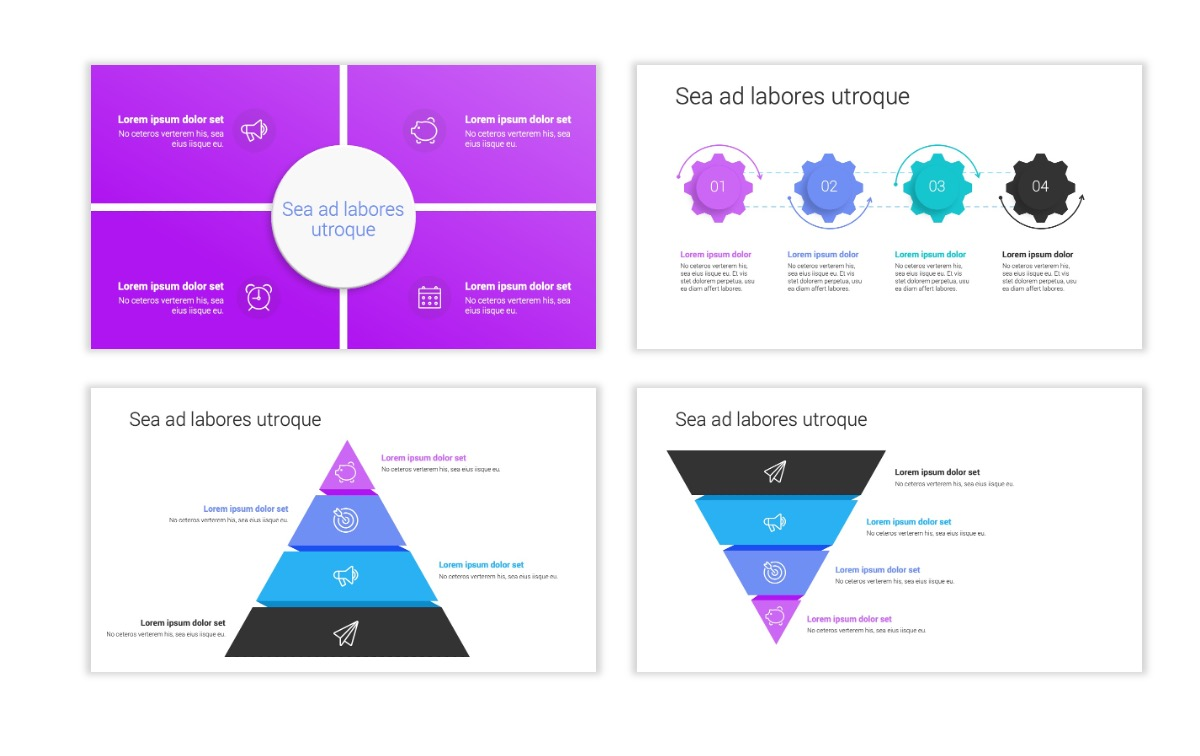 Minimal PPT Templates - Purple - Bright - Colorful - Interior Design - Real Estate Slide16