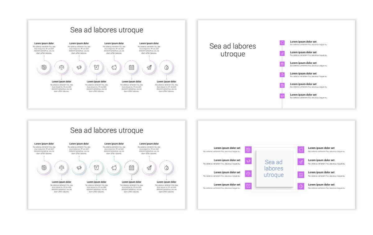 Minimal PPT Templates - Purple - Bright - Colorful - Interior Design - Real Estate Slide20
