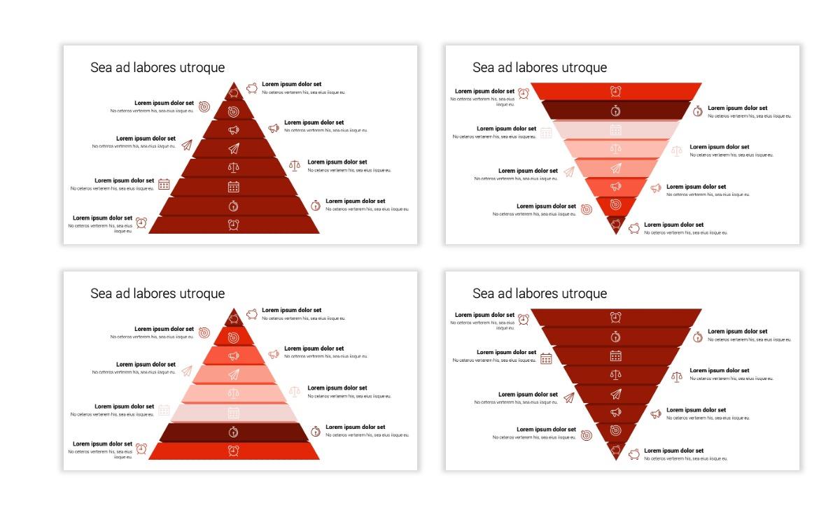 Minimal PPT Templates - Red - Monochrome - Interior Design - Real Estate Slide22