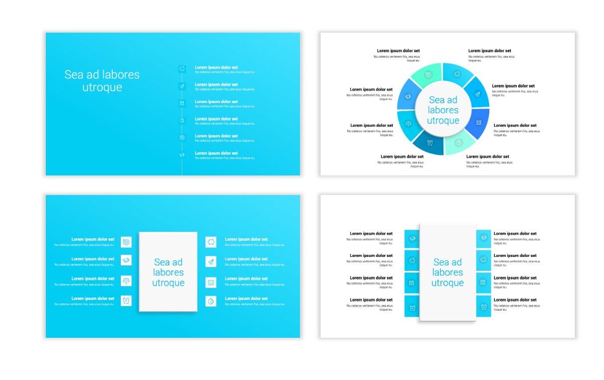 Minimal PPT Templates - Seafoam - Bright - Monochrome - Interior Design - Real Estate Slide21