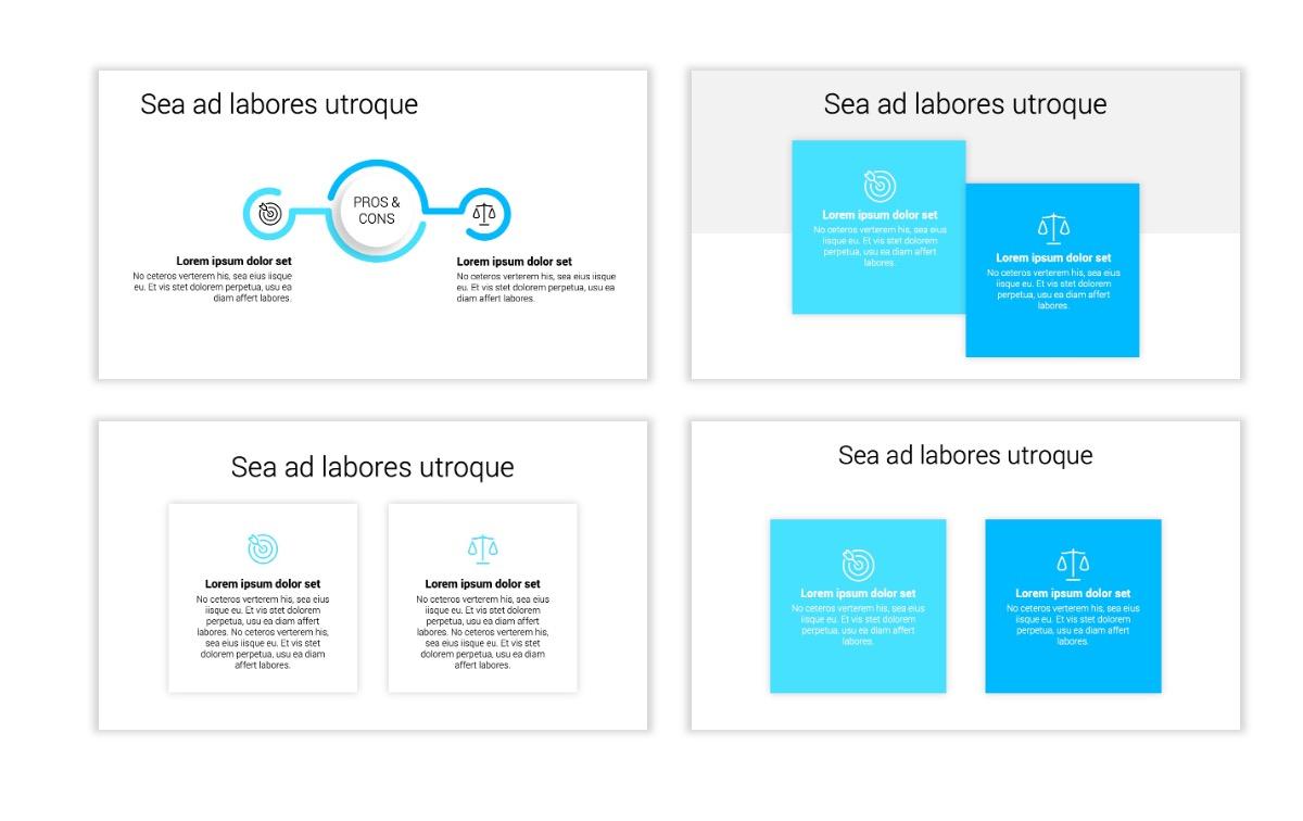 Minimal PPT Templates - Seafoam - Bright - Monochrome - Interior Design - Real Estate Slide3