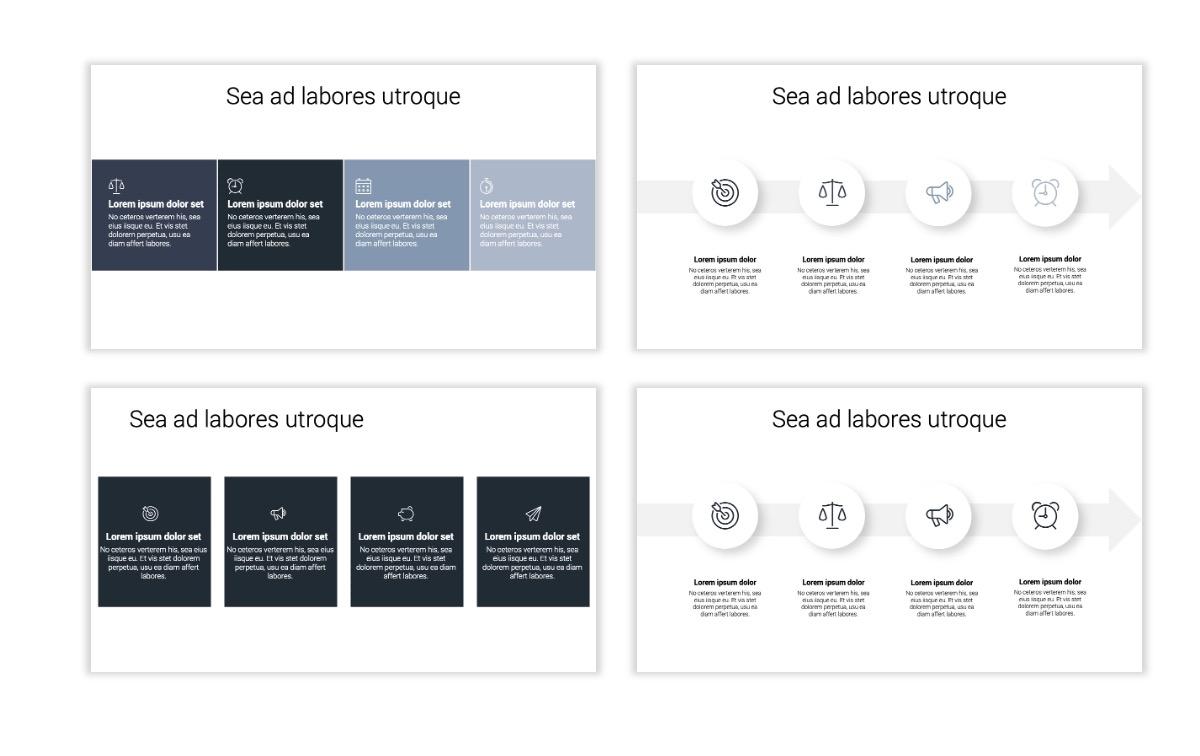 Minimal PPT Templates - Slate Gray Neutral - Monochrome - Interior Design - Real Estate Slide14