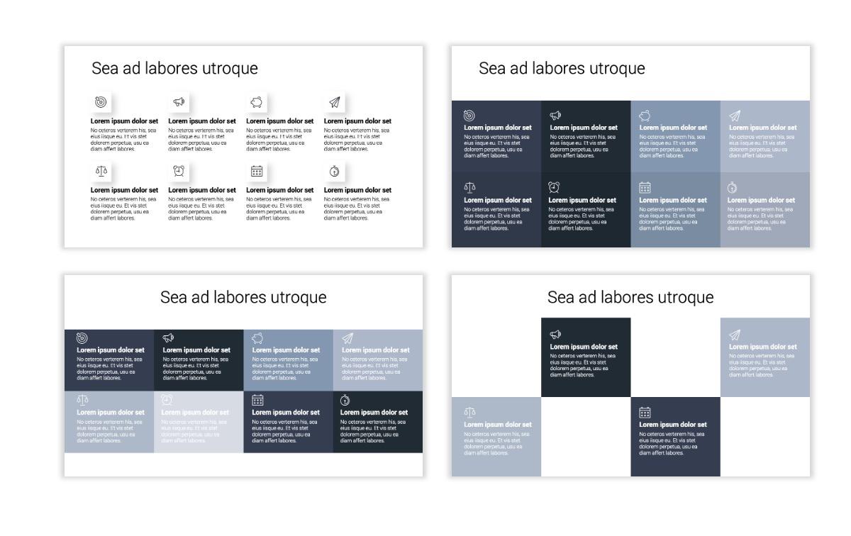 Minimal PPT Templates - Slate Gray Neutral - Monochrome - Interior Design - Real Estate Slide18
