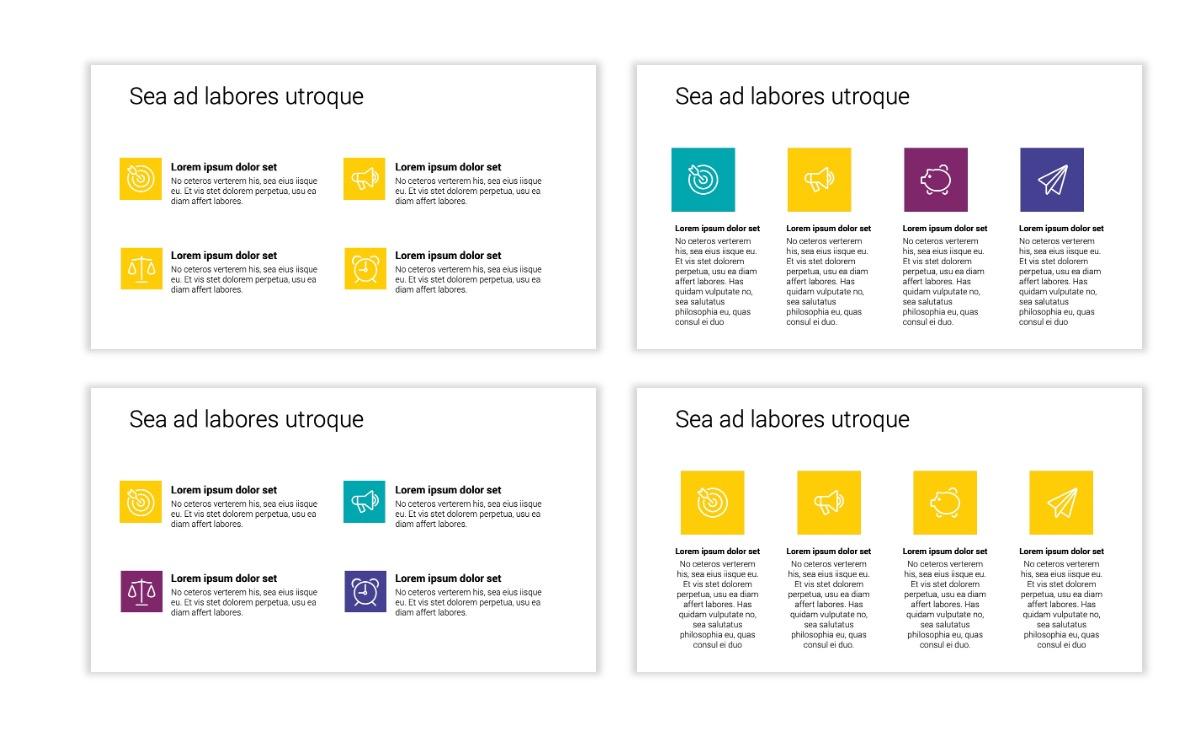 Minimal PPT Templates - Yellow - Bright - Colorful - Interior Design - Real Estate Slide11