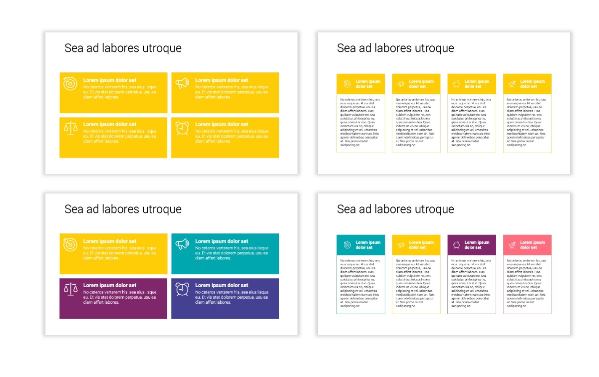 Minimal PPT Templates - Yellow - Bright - Colorful - Interior Design - Real Estate Slide12