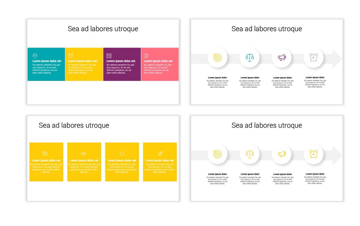 Minimal PPT Templates - Yellow - Bright - Colorful - Interior Design - Real Estate Slide14