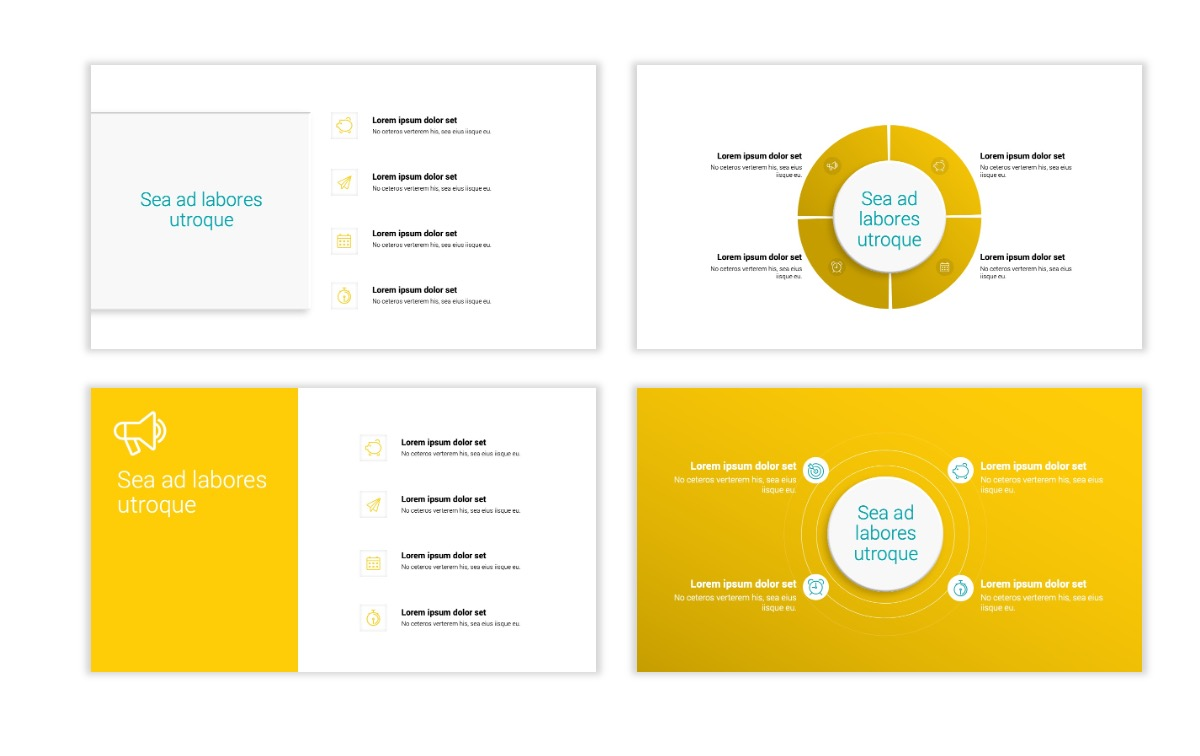 Minimal PPT Templates - Yellow - Bright - Colorful - Interior Design - Real Estate Slide15