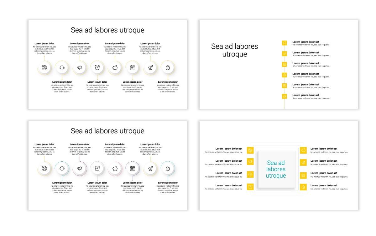 Minimal PPT Templates - Yellow - Bright - Colorful - Interior Design - Real Estate Slide20