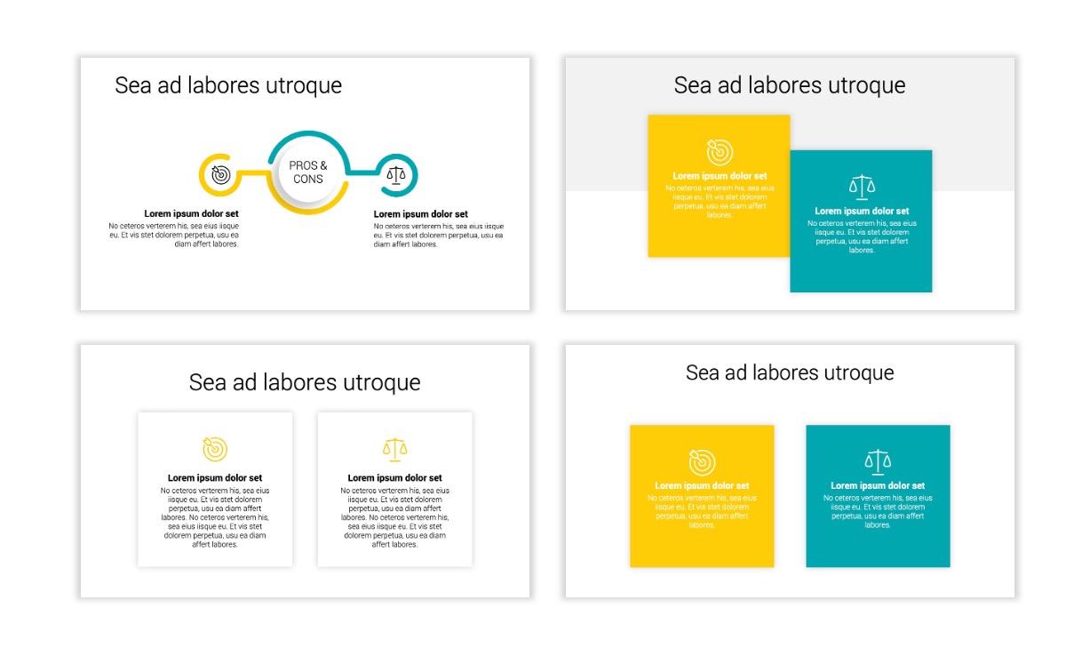 Minimal PPT Templates - Yellow - Bright - Colorful - Interior Design - Real Estate Slide3