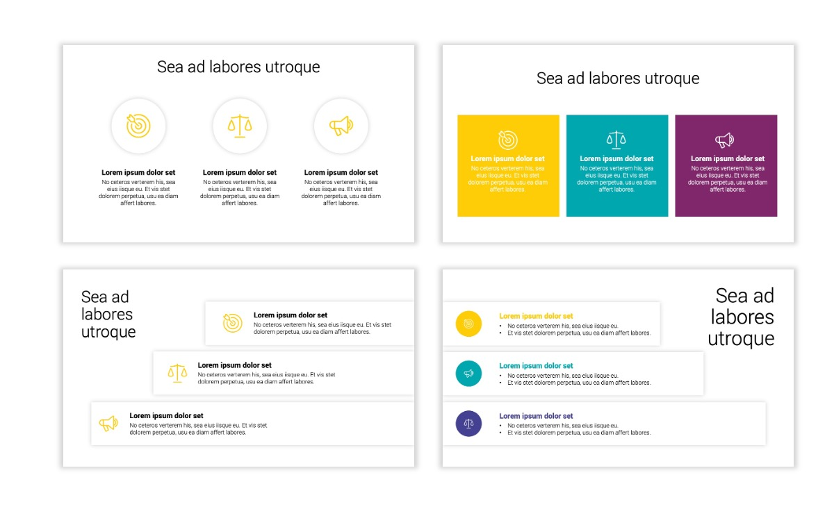 Minimal PPT Templates - Yellow - Bright - Colorful - Interior Design - Real Estate Slide7