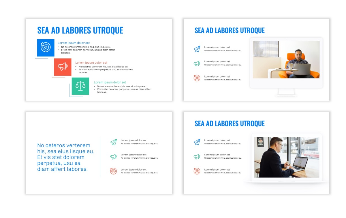 OSLO - Minimal - Blue -Bright - Business - Professional - Aesthetic - Clean - Minimal Slide9