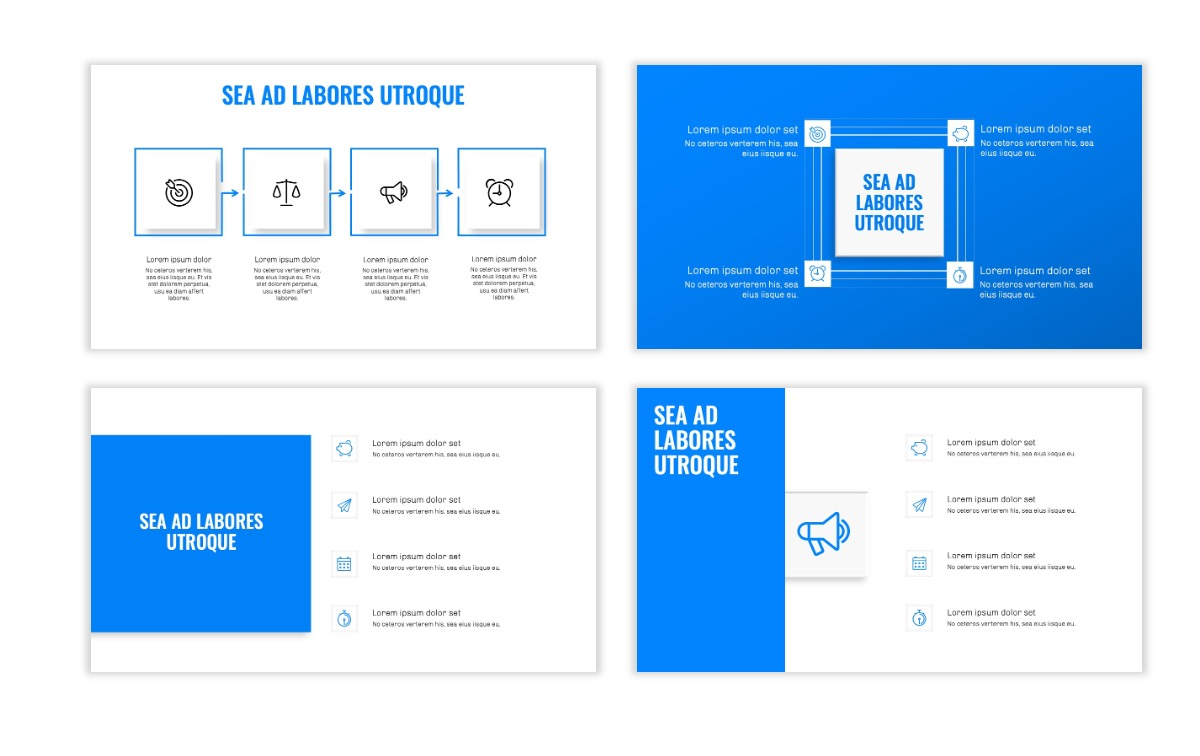 OSLO - Minimal - Blue - Business - Professional - Aesthetic - Clean - Minimal Slide15