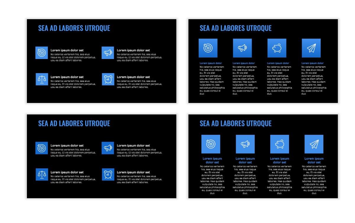 OSLO - Minimal - Dark Blue - Business - Professional - Aesthetic - Clean - Minimal Slide11