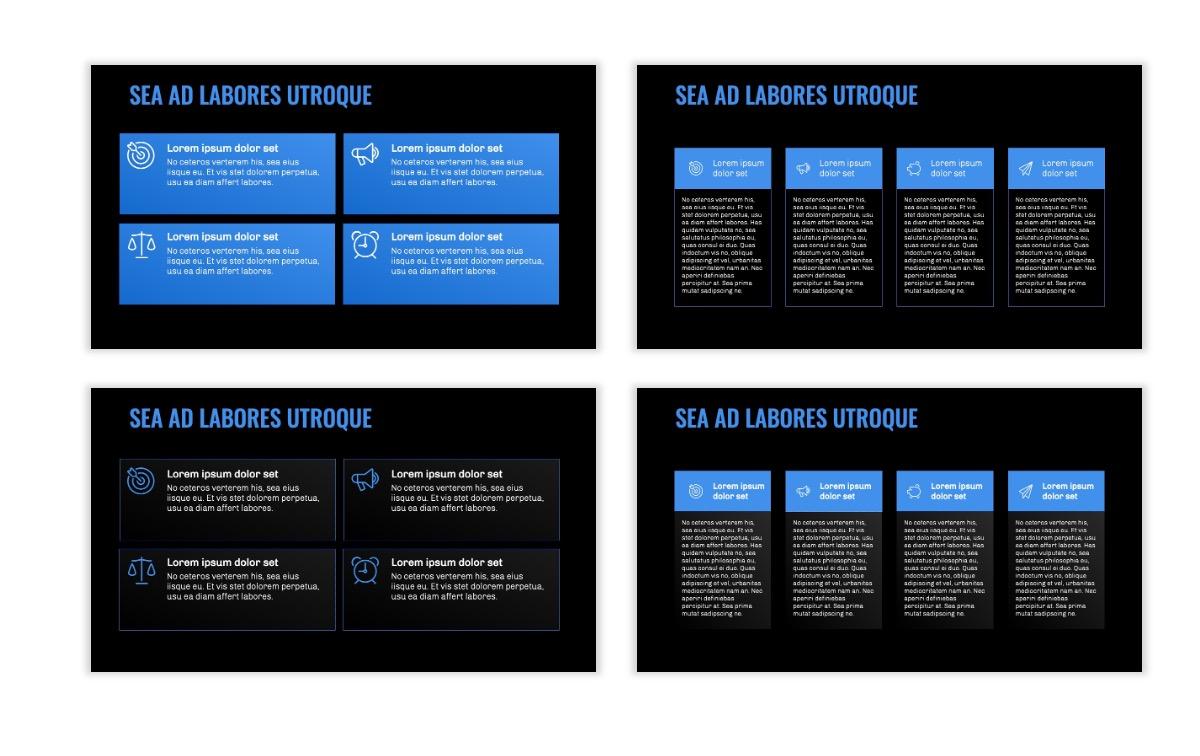 OSLO - Minimal - Dark Blue - Business - Professional - Aesthetic - Clean - Minimal Slide12