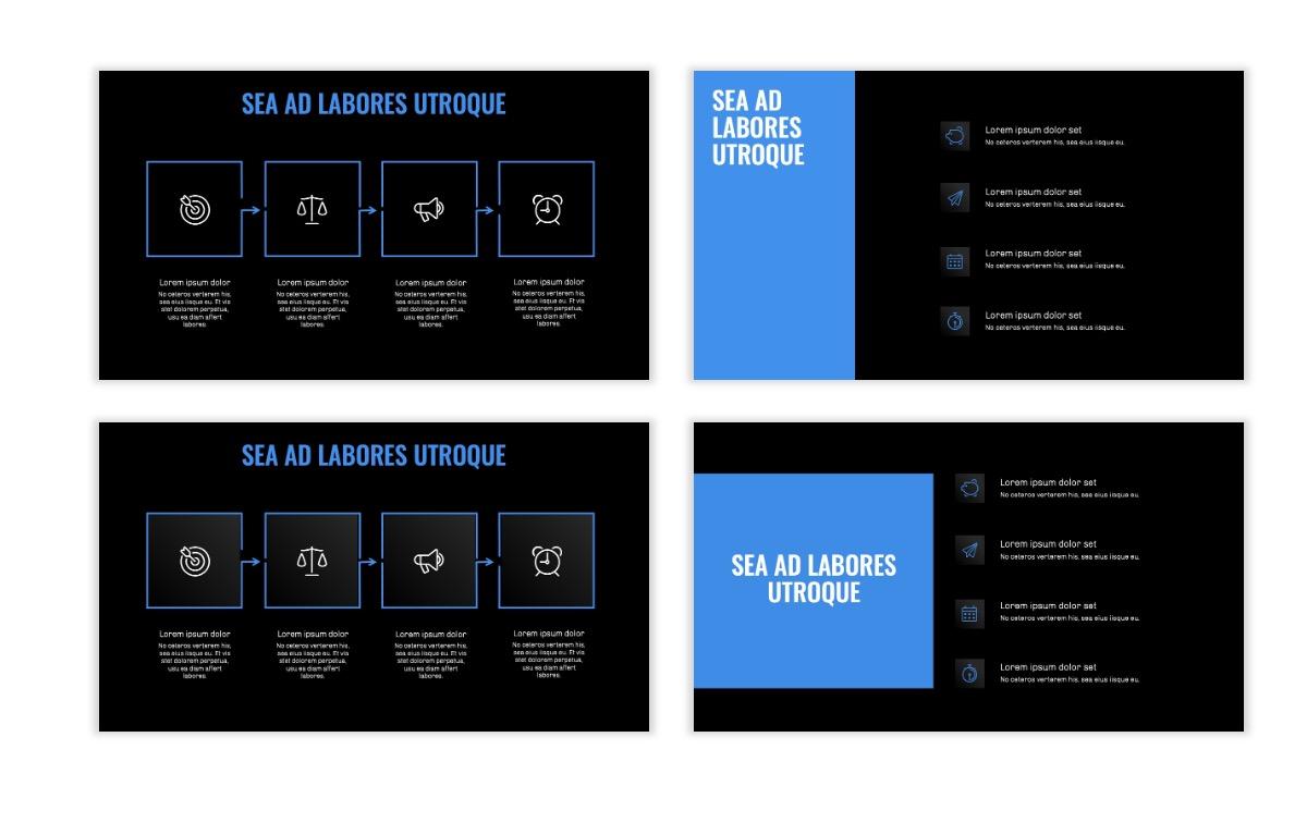 OSLO - Minimal - Dark Blue - Business - Professional - Aesthetic - Clean - Minimal Slide15