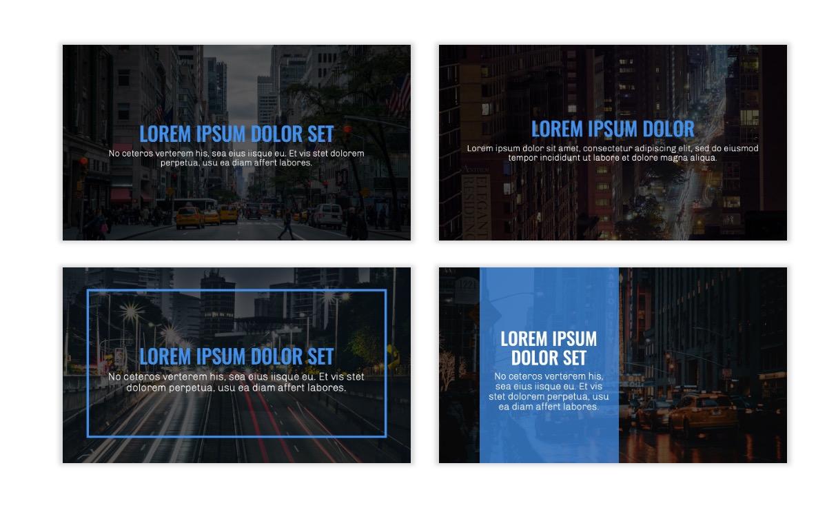 OSLO - Minimal - Dark Blue - Business - Professional - Aesthetic - Clean - Minimal Slide2