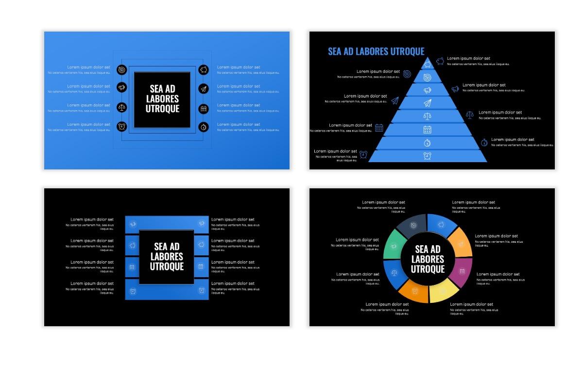 OSLO - Minimal - Dark Blue - Business - Professional - Aesthetic - Clean - Minimal Slide21